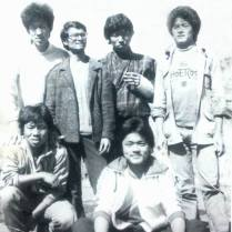 First job, Radio NYAB, 1986