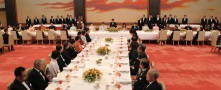 State Dinner at the Imperial Palace of Japan - peak of my career, 2011. I sat between Japanese Finance Minister Jun Azumi and Bank of Japan governor.