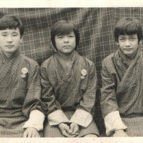 3 of us from 3 different ethic groups, 1981